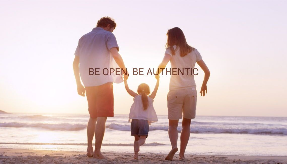 Scrigno be open be authentic